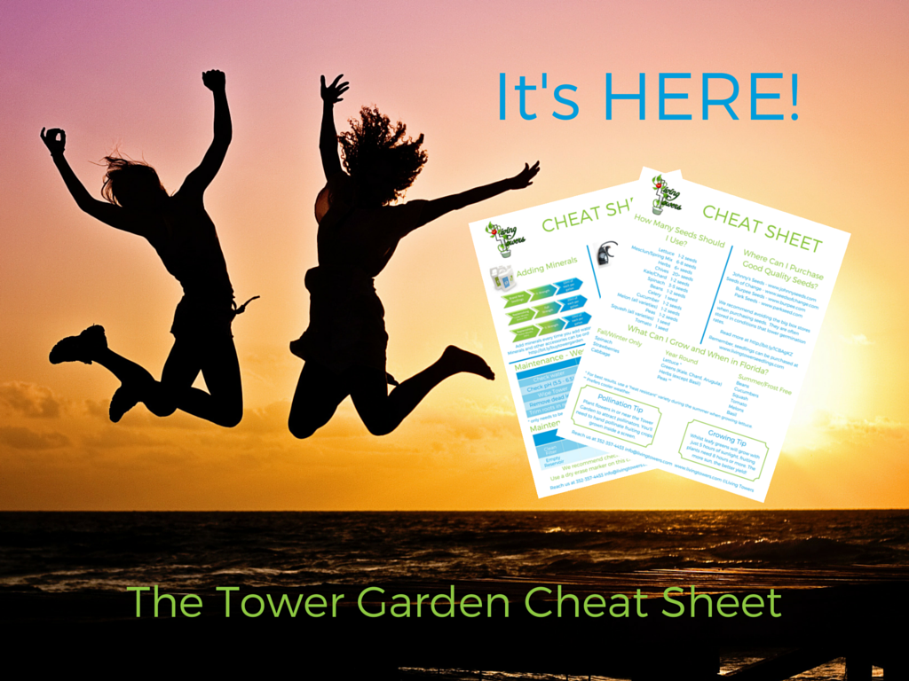 Tower Garden Cheat Sheet